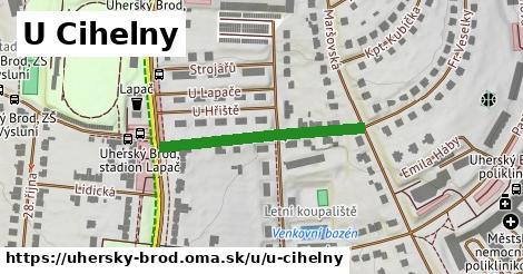 ilustrácia k U Cihelny, Uherský Brod - 290m