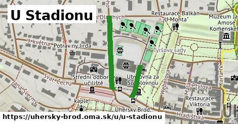 ilustrácia k U Stadionu, Uherský Brod - 328m