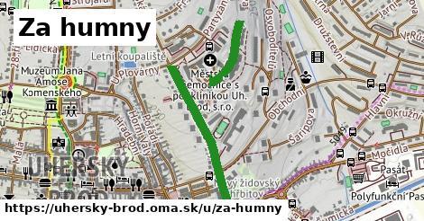 ilustrácia k Za Humny, Uherský Brod - 0,81km