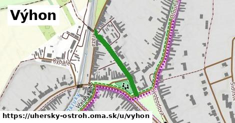 ilustrácia k Výhon, Uherský Ostroh - 244m