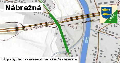 ilustrácia k Nábrežná, Uhorská Ves - 266m