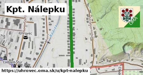 ilustrácia k Kpt. Nálepku, Uhrovec - 411m