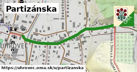 ilustrácia k Partizánska, Uhrovec - 540m