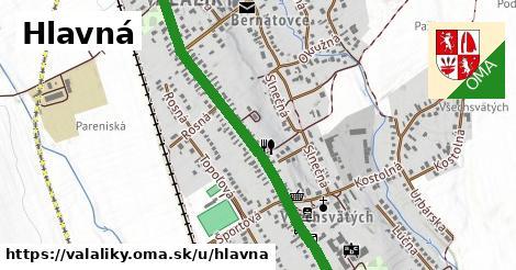 ilustrácia k Hlavná, Valaliky - 2,5km