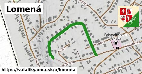 ilustrácia k Lomená, Valaliky - 474m