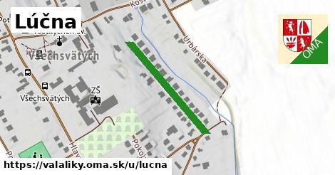 ilustrácia k Lúčna, Valaliky - 261m