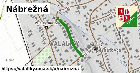 ilustrácia k Nábrežná, Valaliky - 248m