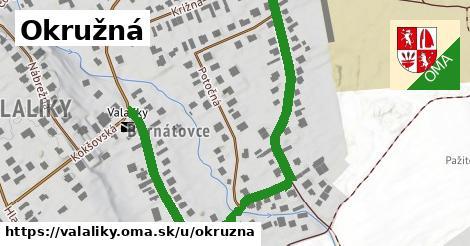ilustrácia k Okružná, Valaliky - 0,83km