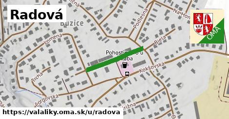ilustrácia k Radová, Valaliky - 198m