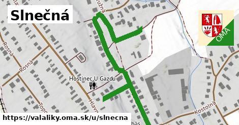 ilustračný obrázok k Slnečná, Valaliky