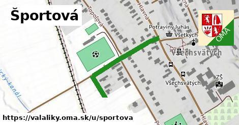 ilustrácia k Športová, Valaliky - 127m