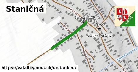 ilustrácia k Staničná, Valaliky - 247m