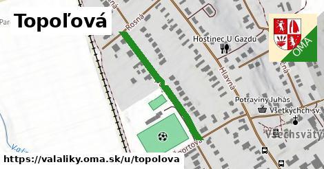 ilustrácia k Topoľová, Valaliky - 253m