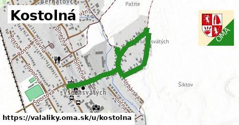 ilustrácia k Kostolná, Valaliky - 1,35km
