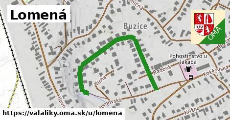 ilustrácia k Lomená, Valaliky - 482m