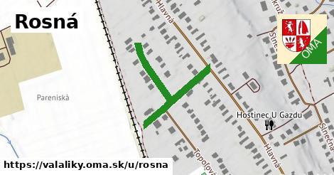 ilustrácia k Rosná, Valaliky - 191m