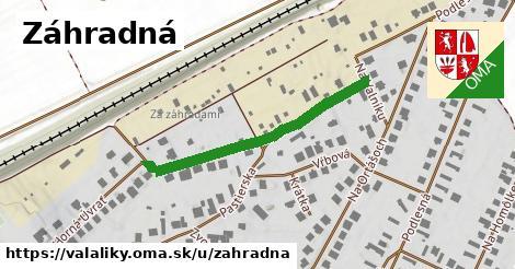 ilustračný obrázok k Záhradná, Valaliky