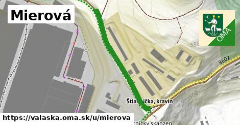 ilustrácia k Mierová, Valaská - 441m