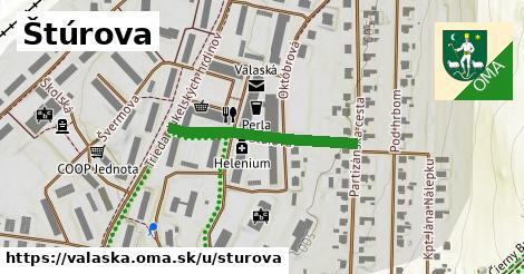 ilustrácia k Štúrova, Valaská - 268m