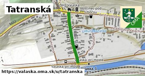 ilustrácia k Tatranská, Valaská - 263m