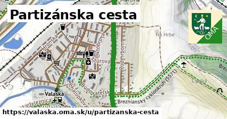 ilustrácia k Partizánska cesta, Valaská - 0,78km