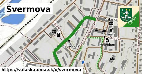 ilustrácia k Švermova, Valaská - 382m