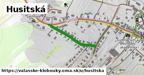 ilustrácia k Husitská, Valašské Klobouky - 269m