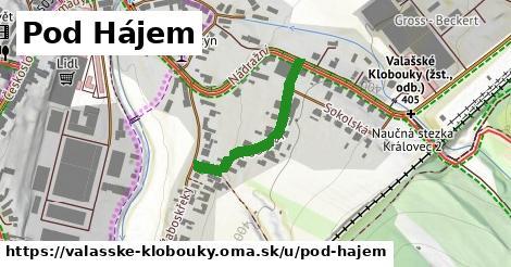 ilustrácia k Pod Hájem, Valašské Klobouky - 257m