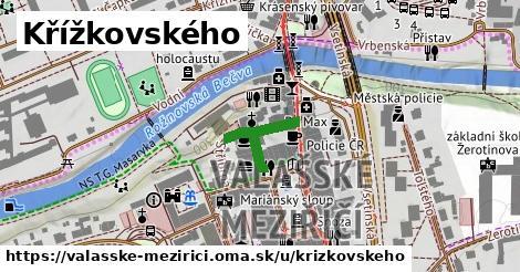 ilustrácia k Křížkovského, Valašské Meziříčí - 175m