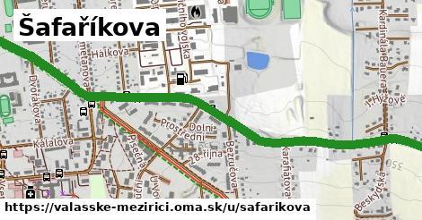 ilustrácia k Šafaříkova, Valašské Meziříčí - 1,74km