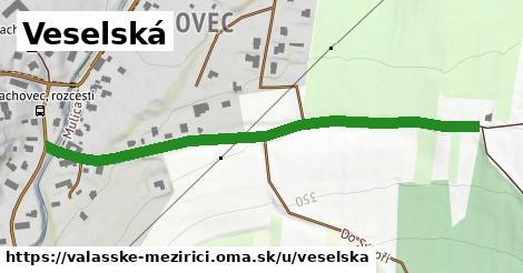 ilustrácia k Veselská, Valašské Meziříčí - 617m