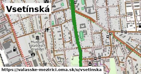 ilustrácia k Vsetínská, Valašské Meziříčí - 3,3km
