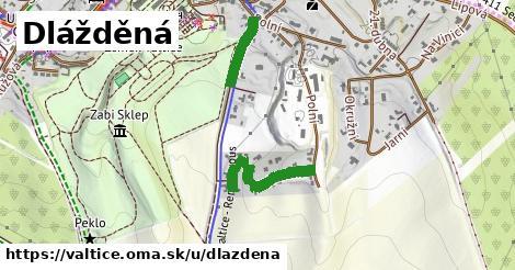 ilustrácia k Dlážděná, Valtice - 159m