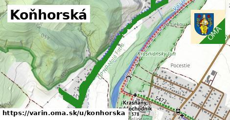 ilustrácia k Koňhorská, Varín - 1,89km
