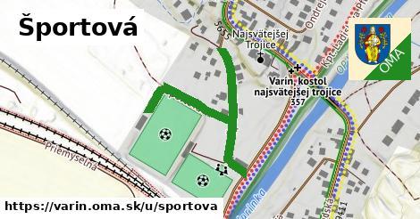 ilustrácia k Športová, Varín - 431m