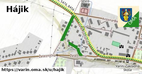 ilustrácia k Hájik, Varín - 243m