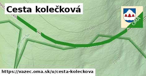 ilustrácia k Cesta kolečková, Važec - 579m