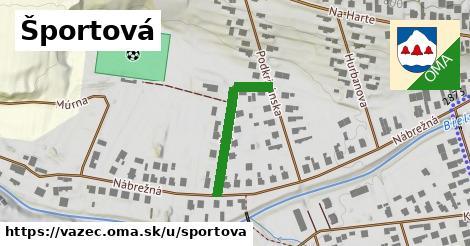 ilustrácia k Športová, Važec - 164m
