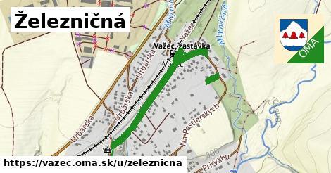 ilustrácia k Železničná, Važec - 0,81km