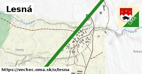 ilustrácia k Lesná, Vechec - 2,0km