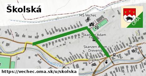 ilustrácia k Školská, Vechec - 472m