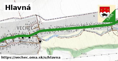ilustrácia k Hlavná, Vechec - 1,73km