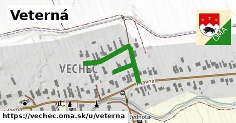 ilustrácia k Veterná, Vechec - 335m