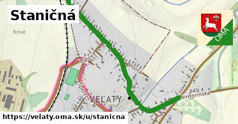 ilustrácia k Staničná, Veľaty - 1,17km