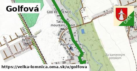 ilustrácia k Golfová, Veľká Lomnica - 1,83km