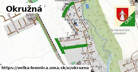 ilustrácia k Okružná, Veľká Lomnica - 467m
