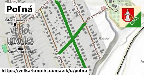 ilustrácia k Poľná, Veľká Lomnica - 0,78km