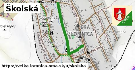 ilustrácia k Školská, Veľká Lomnica - 0,79km