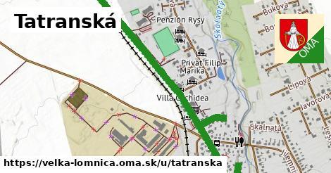 ilustračný obrázok k Tatranská, Veľká Lomnica