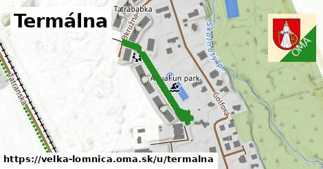 ilustračný obrázok k Termálna, Veľká Lomnica